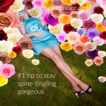 The #1 tip to stay spine-tingling gorgeous
